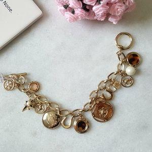 Lauren Ralph Lauren Charm Toggle Bracelet